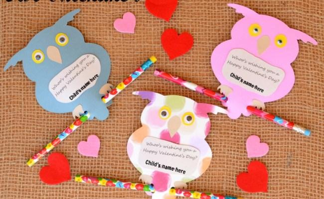 Owl Valentine S