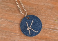 Circle Necklace Pendant {a Cricut Project}