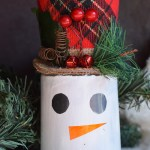 Diy Dollar Tree Christmas Snowman Craft