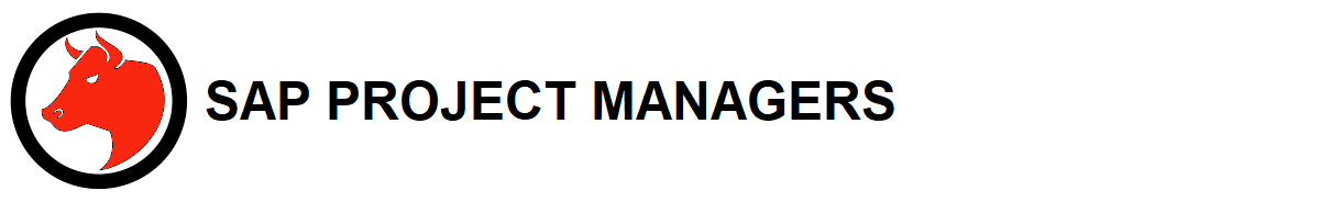 SAP Project Managers Header
