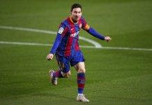 Messi ghi bàn bằng cả hai chân sút giỏi nhất Ngoại hạng Anh cộng lại