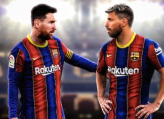 Aguero đến Barcelona làm đồng đội của Messi