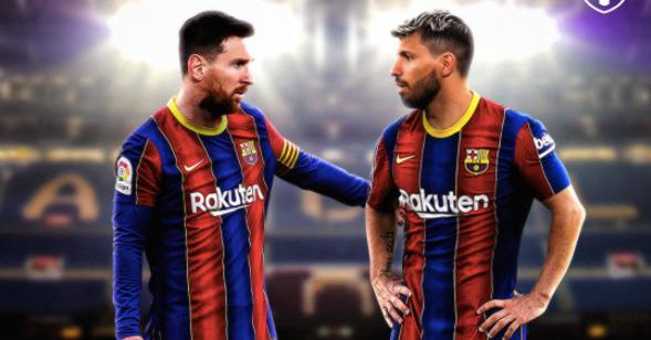 Hiệu ứng Aguero: Messi gia hạn với Barca