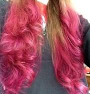 pink hair of 4 popular