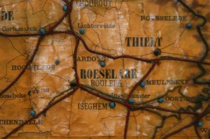 The City of Roeselare on the Braille Map