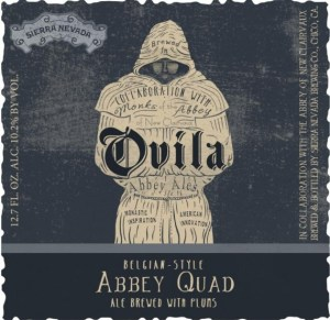 Sierra Nevada Ovila Abbey Quad brewed with Plums