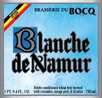 Blanche de Namur Label