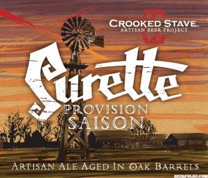 Crooked Stave Surette Label