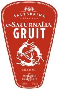 Saltspring Island Saturnalia Gruit