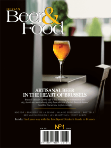 Belgian Beer and Food No 1