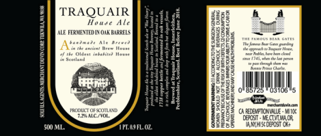 Traquair House Ale