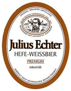 Julius Echter Hefe Weissbier