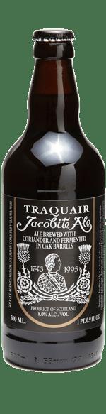 Traquair Jacobite Ale bottle