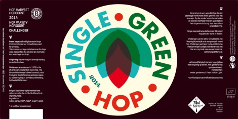 Plukker Single Green hop 2014