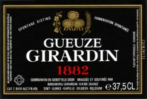 Girardin Gueuze 1882 (Black Label)
