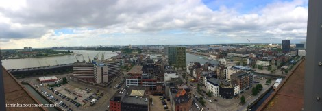 Panorama of Antwerp from MAS