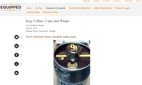 Equipped Brewer - Keg Collars