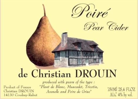 Christian Drouin Poire