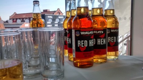 Worley's Red Hen Photo