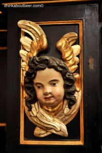 A Cherub in a private alter in St Barbara Church in Kutna Hora