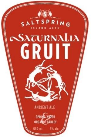 Gulf Island Brewery Salt Spring Ales Saturnalia Gruit