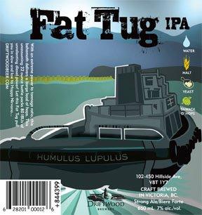 Driftwood Brewery Fat Tug IPA