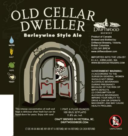 Driftwood Brewery Old Cellar Dweller 2011