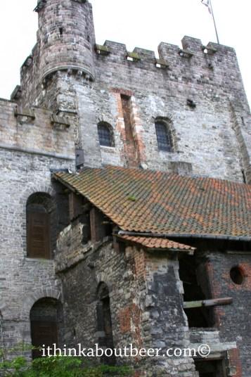 Inside the walls of Gravensteen