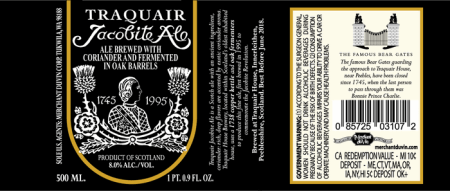 Traquair Jacobite Ale