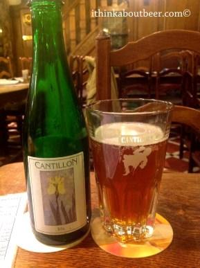 Cantillon Iris at A La Becasse