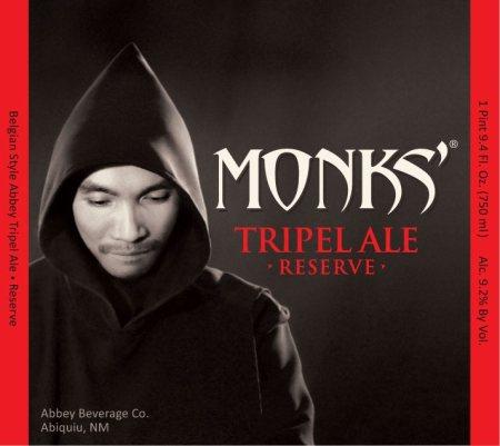 Monks' Tripel Ale Reserve
