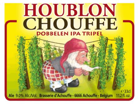 Brasserie d'Achouffe Houblon Chouffe Dobbelen IPA Tripel