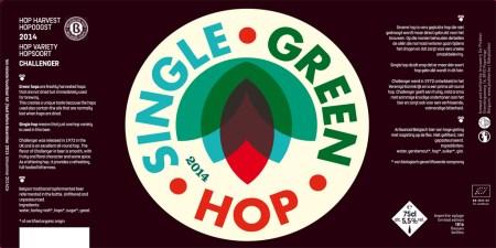 De Plukker Single Green Hop 2014