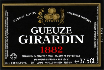 Girardin Gueuze 1882 (Black Label – 2014)