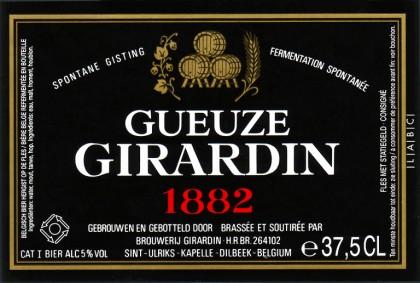 Girardin Gueuze 1882 (Black Label – 2014)