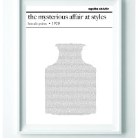 Text Art Book Posters
