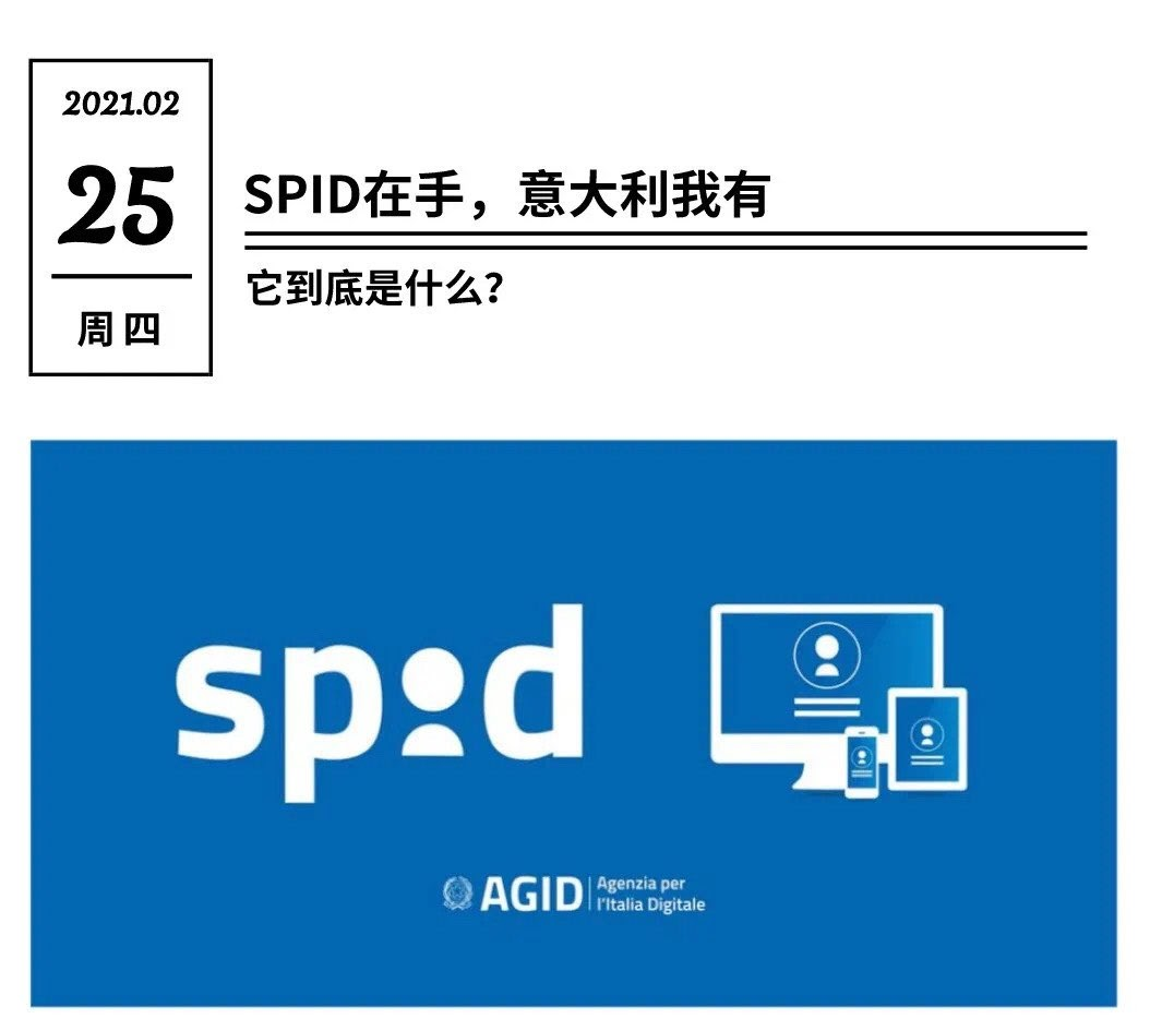SPID在手,意大利我有 意国SPID 第1张