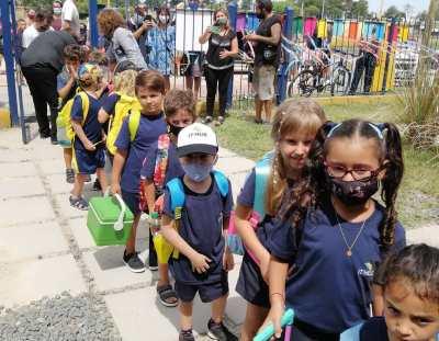 Primaria y Preescolares en sus primeras semanas de clase