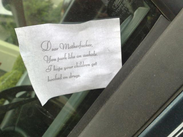angry_windshield_message