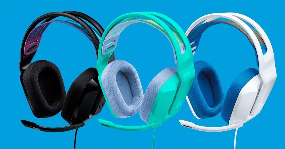 罗技G335,有线游戏耳机和醒目的颜色| 伊蒂格