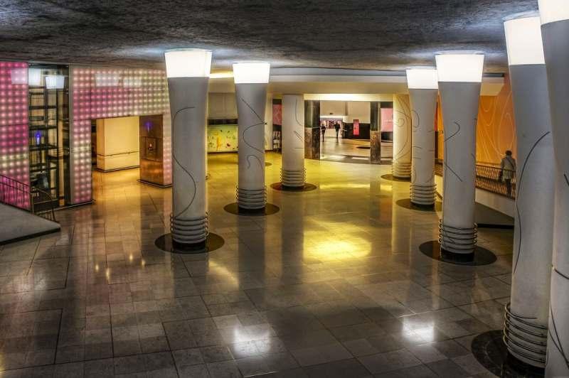 Horta Venue And Underground Art Signed Architect Itinari