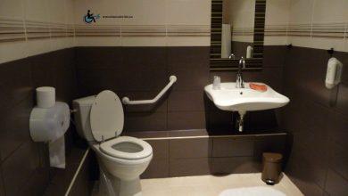 Ces toilettes n'ont pas réellement de zone de transfert.
