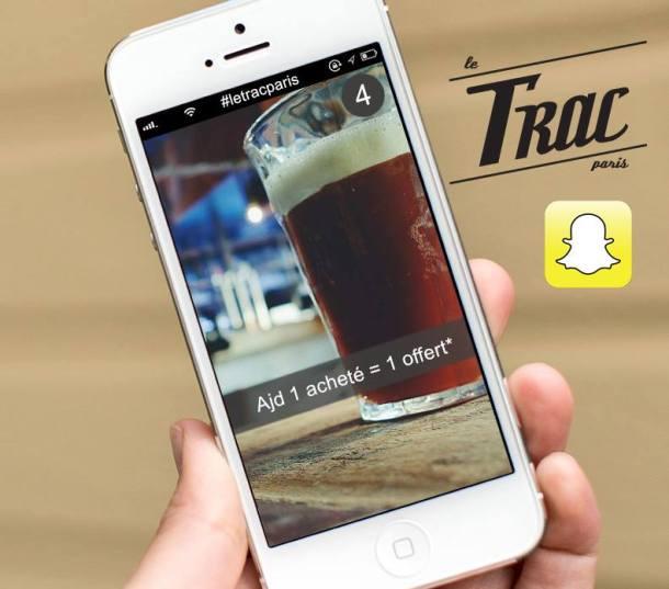 Le Trac est sur Snapchat !