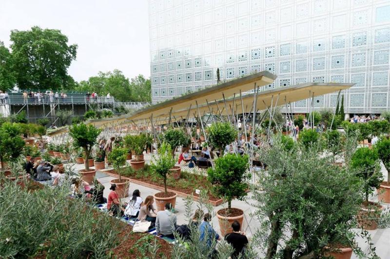 Concours La Parenthese Jardin Fmr Music Institut Du Monde - Jardin-arabe