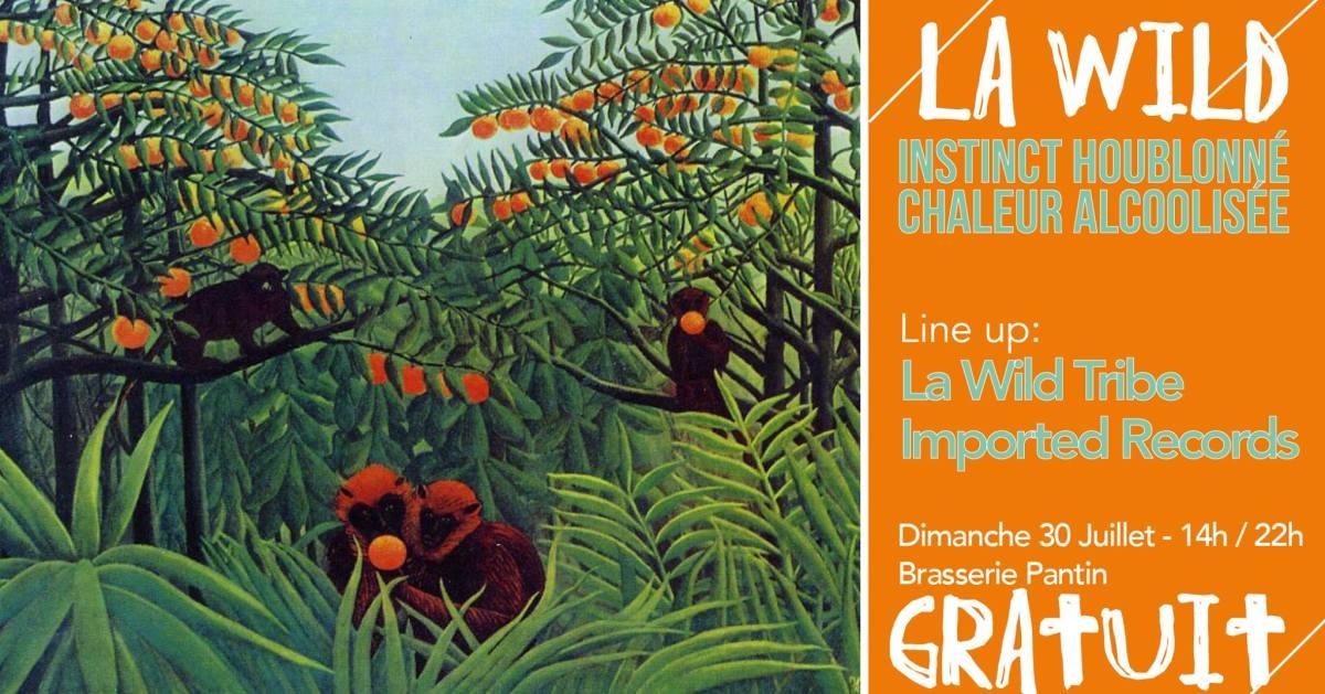 Free - La Wild : Instinct houblonné, chaleur alcoolisée le 30 juillet