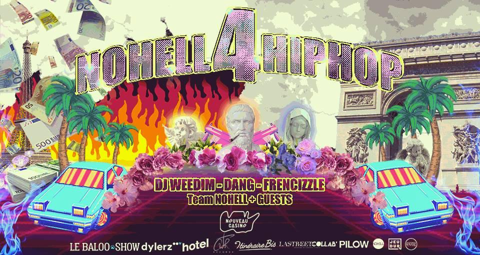 Jeux concours - Soirée Nohell4HipHop le 14 septembre au Nouveau Casino