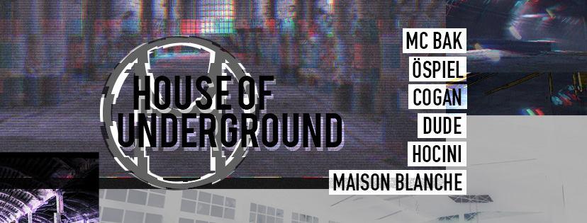 Jeux concours - Soirée House Of Underground le 17 novembre à L'Officine 2.0
