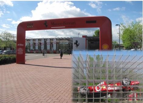 Musée Ferrari à Maranello