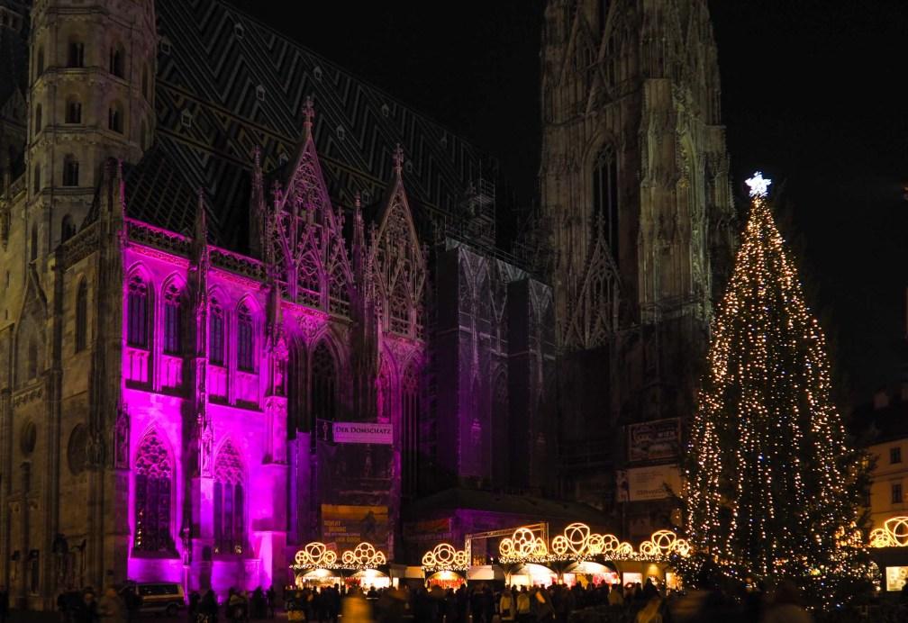 Marché de Noël Stephansplatz
