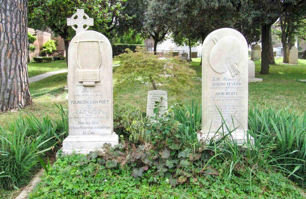 cimetière protestant de Rome